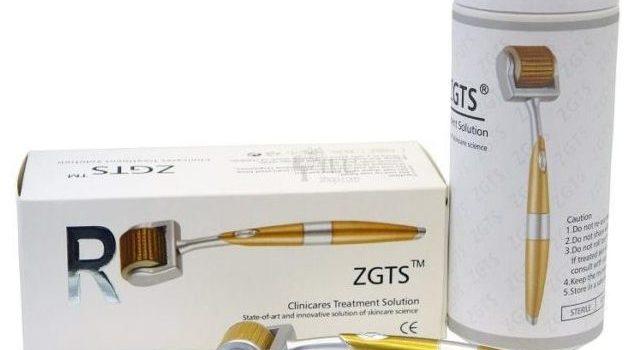 Мезороллер ZGTS — титановые иглы с золотым напылением