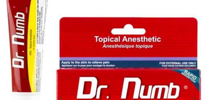 Анестезирующий крем Dr. NUMB