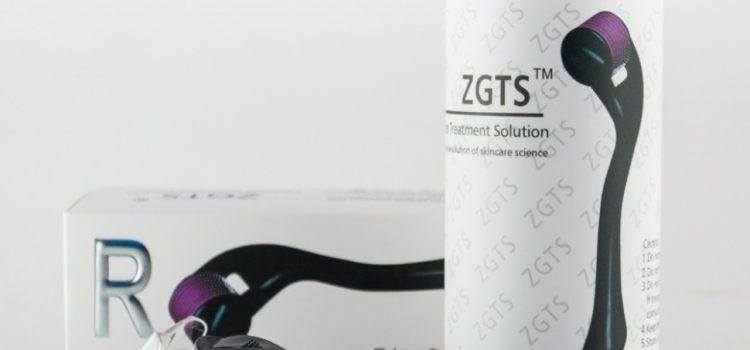 Мезороллер ZGTS титановые иглы с серебренным напылением